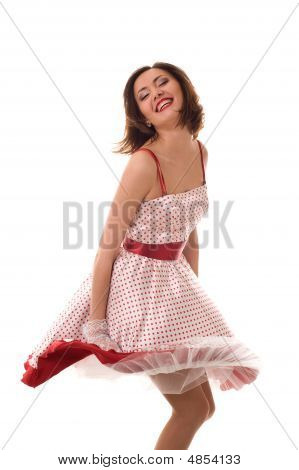 Dancing Asian Girl