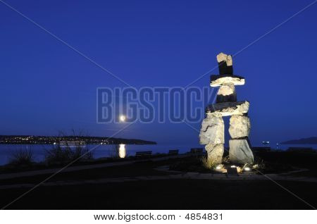 2010 Symbol - Inukshuk At English Bay, Vancouver