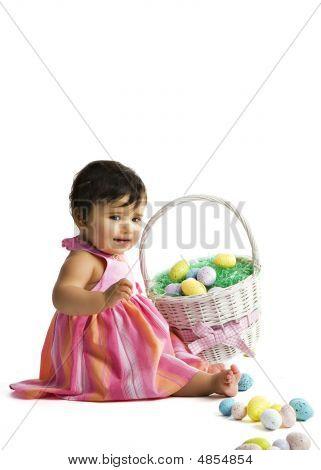 Easter Basket Baby