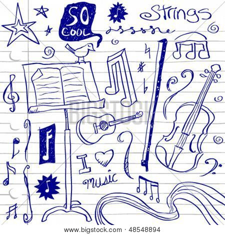 String Music Doodles