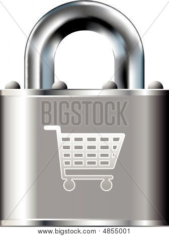 Lock-shoppingcart