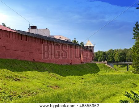 The Kremlin (Detinets-stronghold). Great Novgorod. Russia