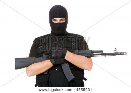 Bewaffneten Verbrecher