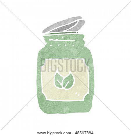 retro cartoon herbal remedy