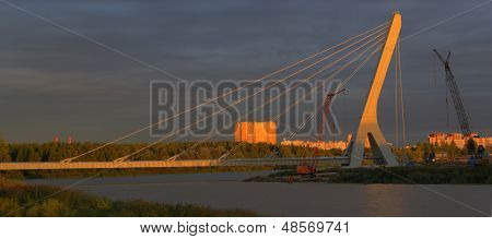 Construction Of Cable-stayed Bridge