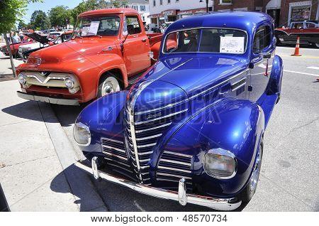 old american car
