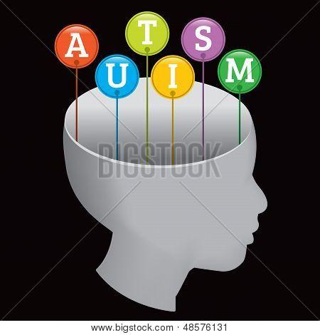 Autism Silhouette
