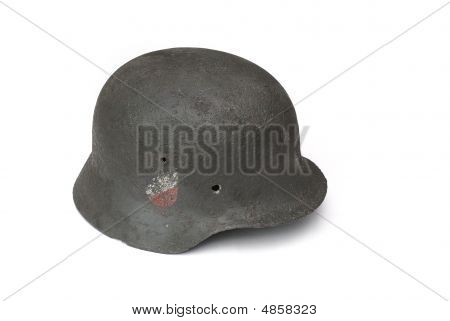 German Battle Helmet (model M40).