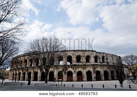 Amphitheater,nimes,france