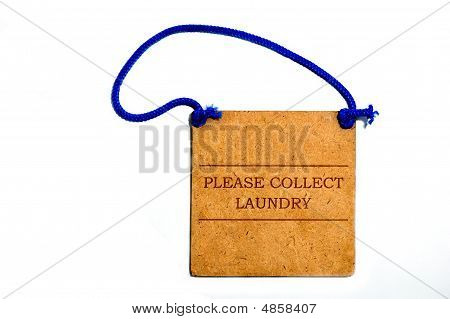 Please Collect Laundry