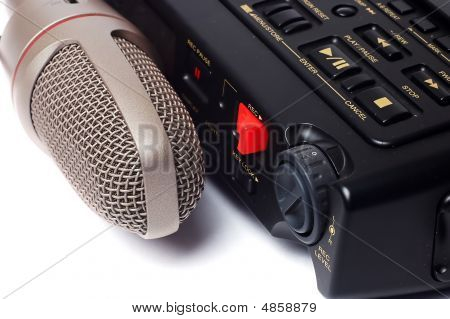 Microphone And Dictophone