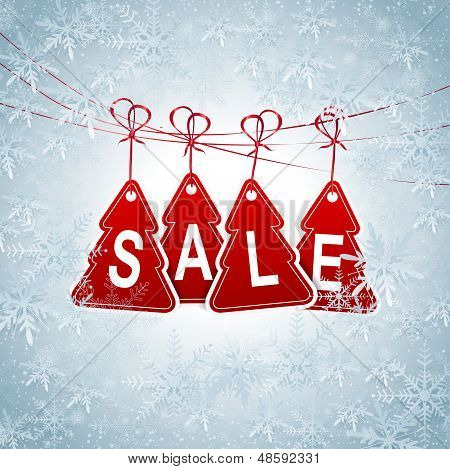 Season Sale Price Tag