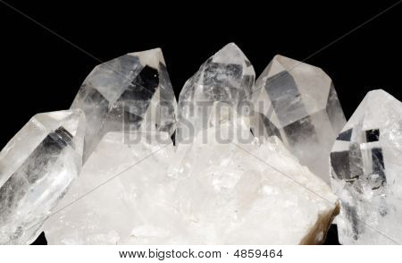 Quartz Crystals With Druze