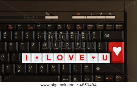 Valentine Message - I Love You