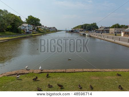 Bude canal Cornwall