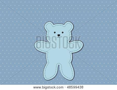 Bear Blue Pattern