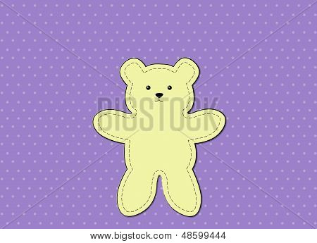 Bear Purple Pattern