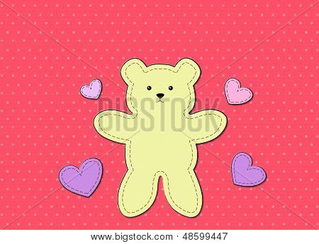 Teddy Bear Graphic Board