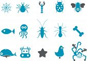 Animals Icon Set poster