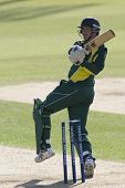 May 03 2009; Southampton Hampshire, W White   competing in Friends Provident trophy 1 day cricket ma