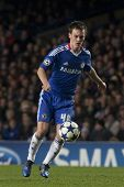 LONDON ENGLAND 23-11-2010. Chelsea's midfielder Josh McEachran in action during the UEFA Champions L