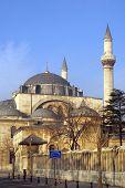 stock photo of rumi  - Mosque Suleymiye in the center of Konya Turkey  - JPG