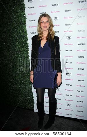 Angela Lindvall at Vanity Fair Campaign Hollywood 2013, Chateau Marmont, Los Angeles, CA 02-18-13