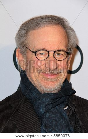 Steven Spielberg at the Hollywood Reporter Celebration for the 85th Academy Awards Nominees, Spago, Beverly Hills, CA 02-04-13