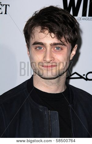 Daniel Radcliffe at the Sixth Annual Women In Film Pre-Oscar Coctail Party, Fig & Olive, Los Angeles, CA 02-22-12