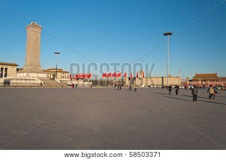 Tiananmen Square. Beijing. China