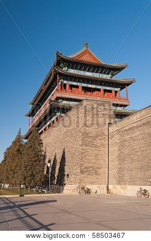 The Zhengyangmen Gate. Beinjing. China