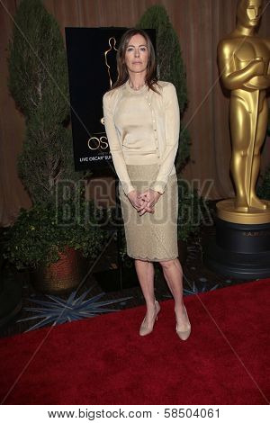 Kathryn Bigelow at the 85th Academy Awards Nominations Luncheon, Beverly Hilton, Beverly Hills, CA 02-04-13