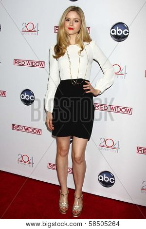 Erin Moriarty at the