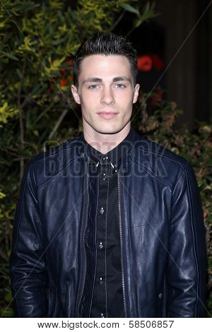 Colton Haynes at the