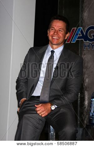 Mark Wahlberg at an Announce of their New Venture, AQUAhydrate, Private Location, Los Angeles, CA 02-27-13