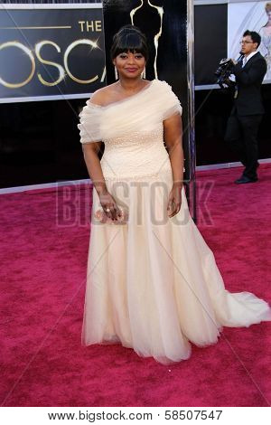Octavia Spencer at the 85th Annual Academy Awards Arrivals, Dolby Theater, Hollywood, CA 02-24-13