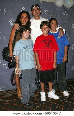 HOLLYWOOD - AUGUST 02: Shaun Toub and family at the