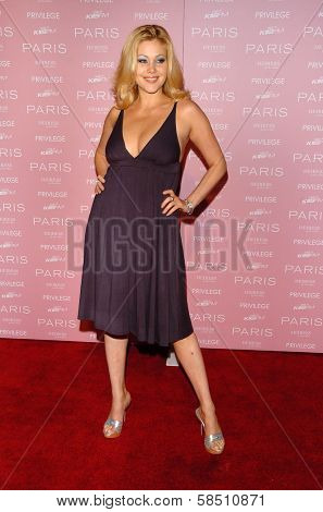 HOLLYWOOD - AUGUST 18: Shanna Moakler at the party celebrating the launch of Paris Hilton's Debut CD