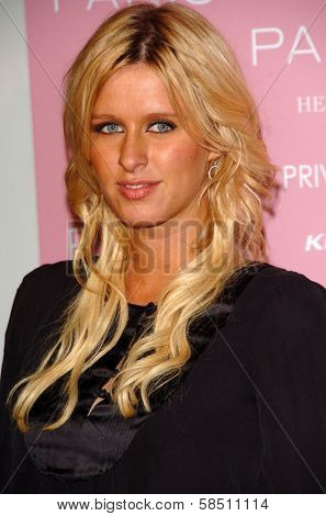 HOLLYWOOD - AUGUST 18: Nicky Hilton at the party celebrating the launch of Paris Hilton's Debut CD
