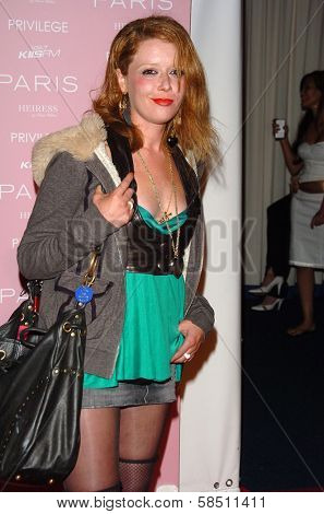 HOLLYWOOD - AUGUST 18: Natasha Lyonne at the party celebrating the launch of Paris Hilton's Debut CD