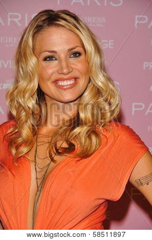 HOLLYWOOD - AUGUST 18: Willa Ford at the party celebrating the launch of Paris Hilton's Debut CD