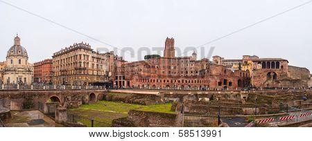 Imperial Fora, Trajan's Market, Rome