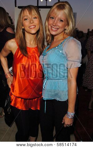 HOLLYWOOD - AUGUST 15: Ashley Peldon and Courtney Peldon at the Los Angeles Premiere of