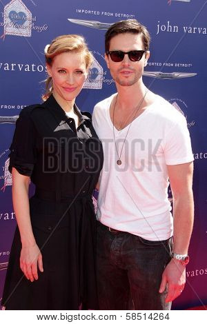 KaDee Strickland, Jason Behr at the 10th Annual John Varvatos Stuart House Benefit, John Varvatos Boutique, Beverly Hills, CA 03-10-13