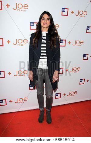Nikki Reed at the introduction of Joe Fresh at JCP, Joe Fresh at JCP Pop Up Store, Los Angeles, CA 03-07-13