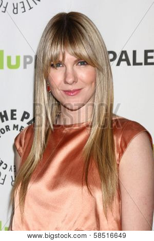 """Lily Rabe at """"American Horror Story: Asylum"""" at PaleyFest 2013, Saban Theater, Beverly Hills, CA 03-15-13"""