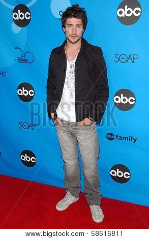 PASADENA, CA - JULY 19: Matt Dallas at the Disney ABC Television Group All Star Party on July 19, 2006 at Kidspace Children's Museum in Pasadena, CA.