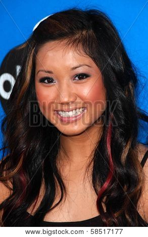 PASADENA, CA - JULY 19: Brenda Song at the Disney ABC Television Group All Star Party on July 19, 2006 at Kidspace Children's Museum in Pasadena, CA.