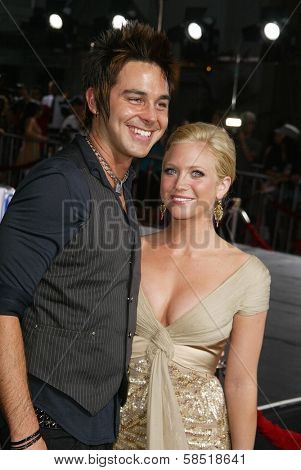 HOLLYWOOD - JULY 25: Brittany Snow and guest at the premiere of John Tucker Must Die on July 25, 2006 at Grauman's Chinese Theatre in Hollywood, CA.