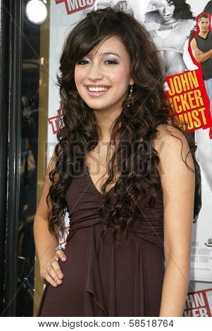 HOLLYWOOD - JULY 25: Christian Serratos at the premiere of John Tucker Must Die on July 25, 2006 at Grauman's Chinese Theatre in Hollywood, CA.